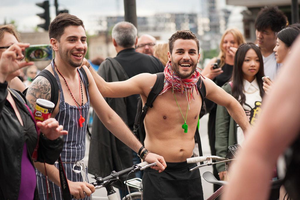 Велопробег в Лондоне 2014
