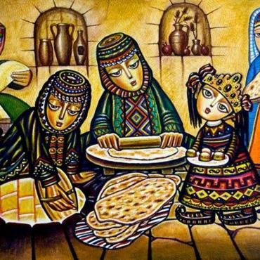 Нас ждут армянская еда и музыка