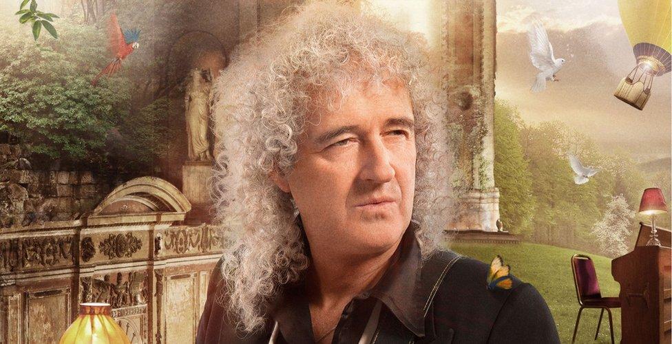 Brian May, легендарный гитарист Queen