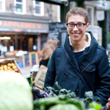 Анна Шмидт — о лондонских рынках, сковородках с тефлоном и других гастрономических радостях