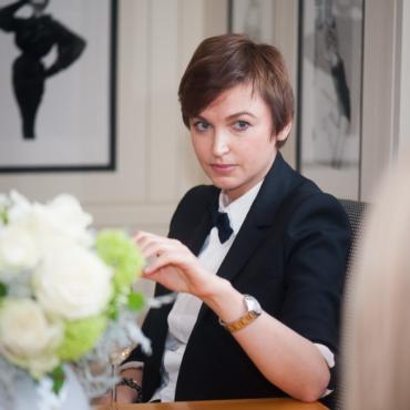 Карина Добротворская в Vogue House