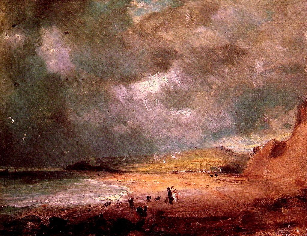 John Constable. Weymouth Bay