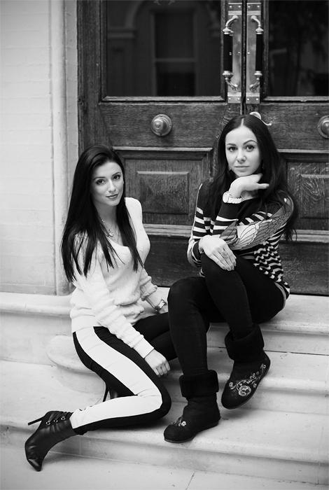 Карина и Катя, создательницы Valenme