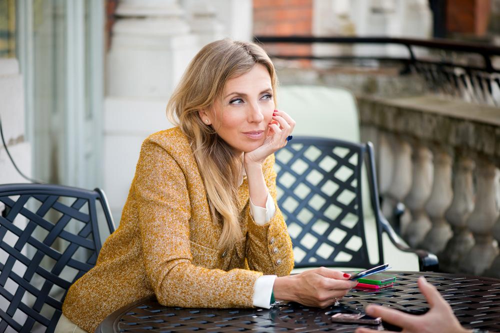 Светлана Бондарчук, для журнала Hello! Фото UKatePhoto
