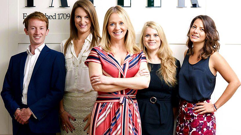 Британская редакция Tatler - главные герои фильма на BBC