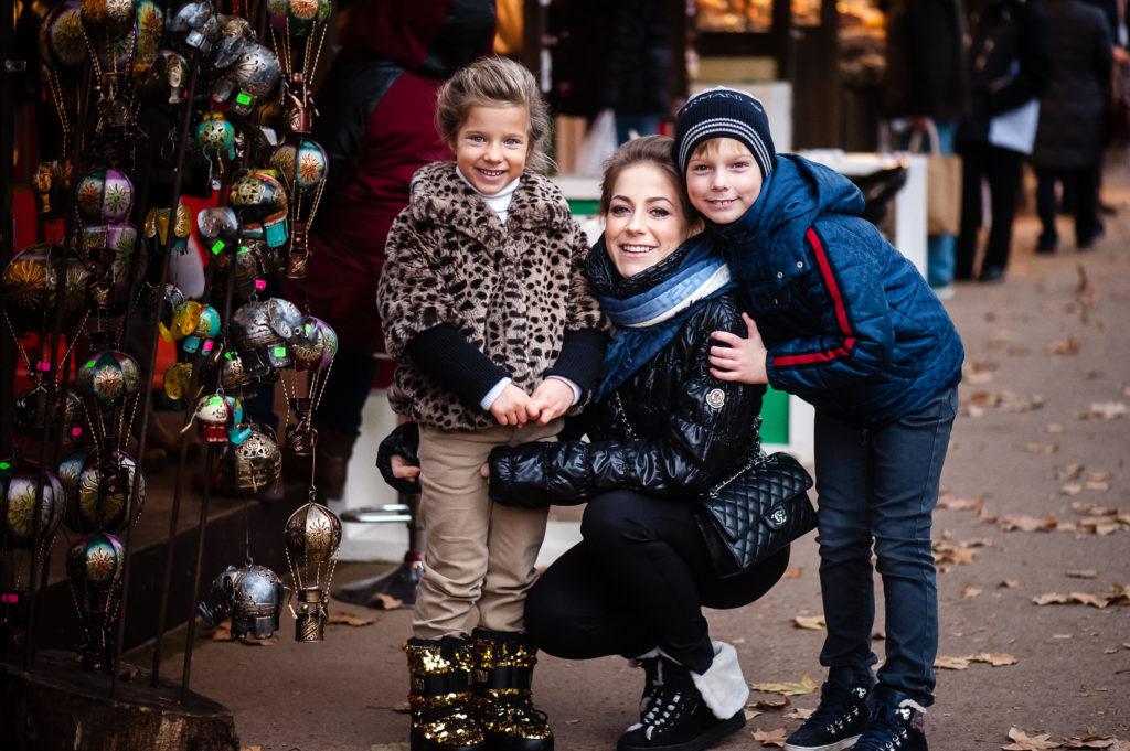 Юлия Барановская с детьми. Фото UKatePhoto