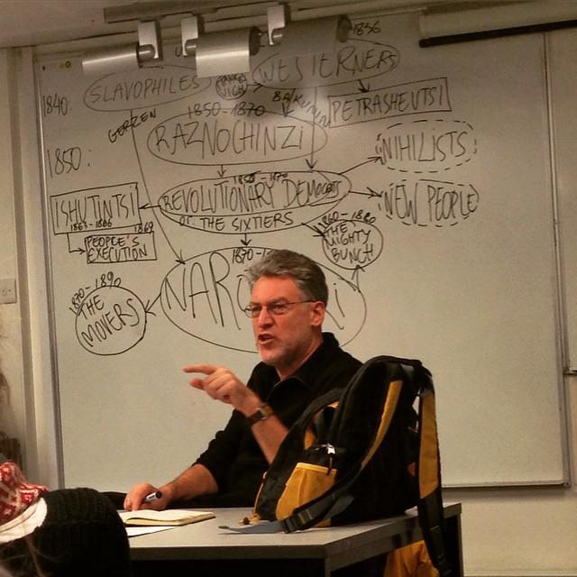 Лекция в King's College. Фото @asteriy