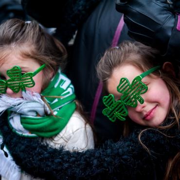 Saint Patrick's Day в Лондоне