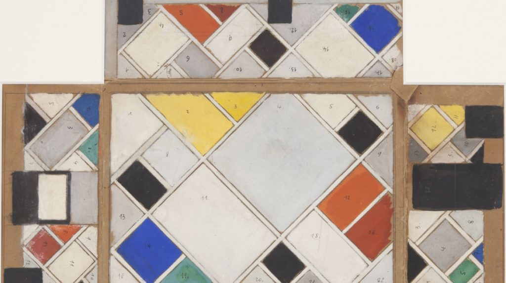 5Feb-BrionyFer-Theo-Van-Doesburg-Colour-Design-for-ceiling-and-three-walls-...-1926-1927-1170x655
