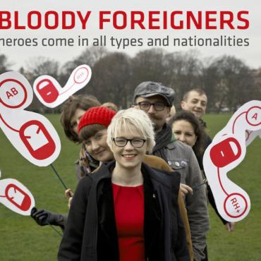 Bloody Foreigners собирают кровь