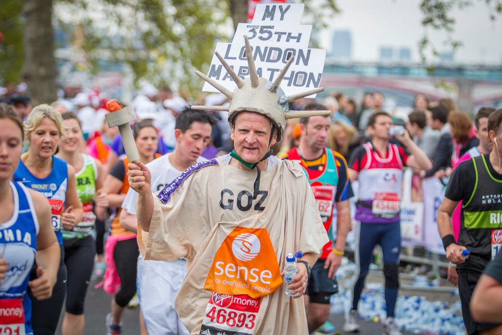 Лондонский марафон, апрель 2015