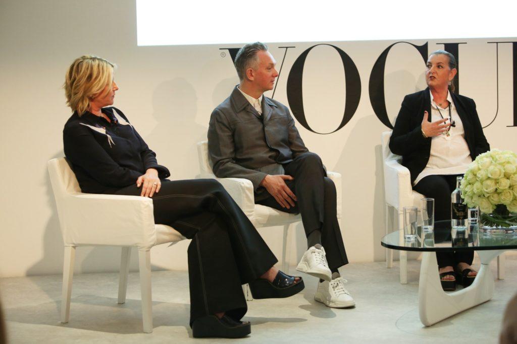 Fiona Golfar, Josh Wood and Moira Benigson Picture credit: Darren Gerrish