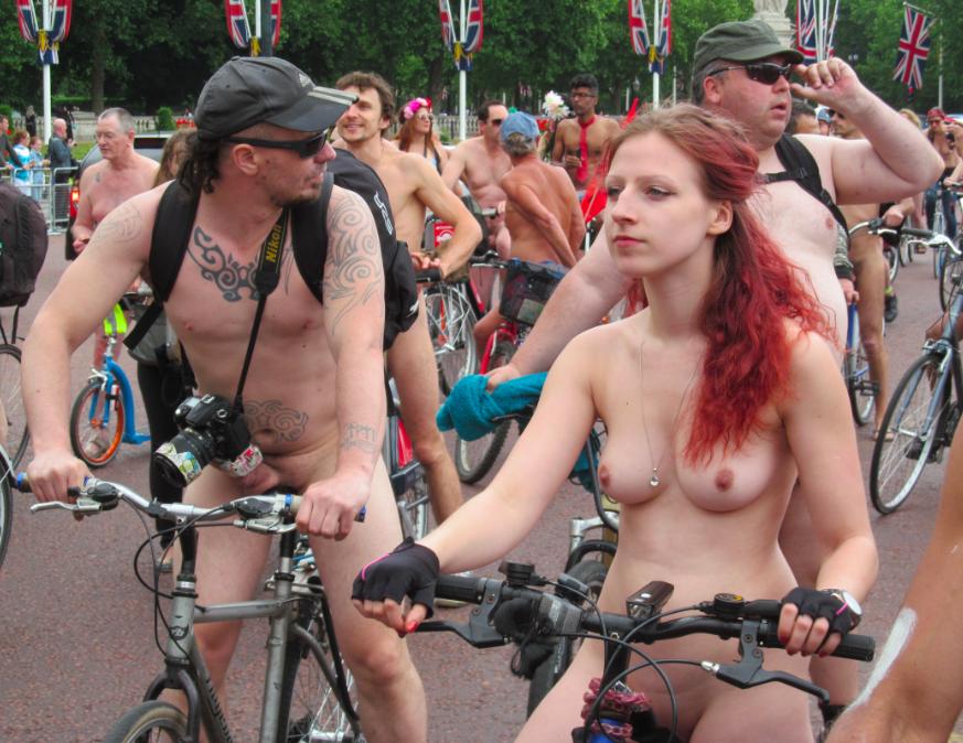 фото порно голый велопробег