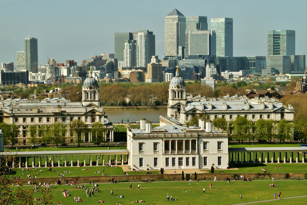 View from Observatory Hill, Greenwich