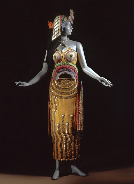 Costume for Cleopatre 1918