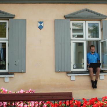 Как я провел лето: Международный дом писателя и переводчика в Вентспилсе