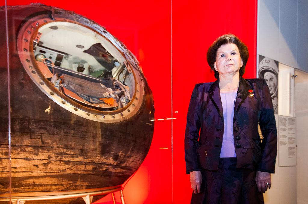 "Открытие выставки ""Cosmonauts: Birth of the Space Age"", сентябрь 2015"