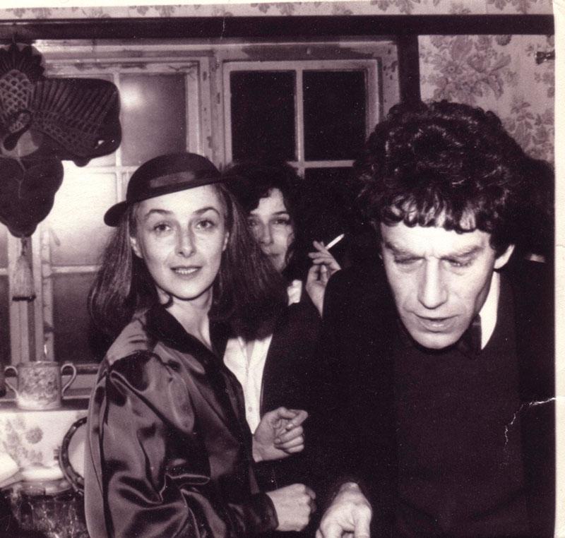 Маша Слоним, Вера Слоним и Зиновий Зиник - Англия 1970е