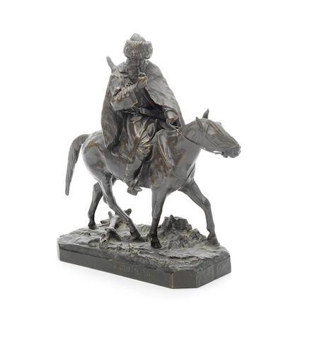 Бронзовая статуя Черкеса на коне, 1870 г. (предварительная оценка — £3000 - £5000)