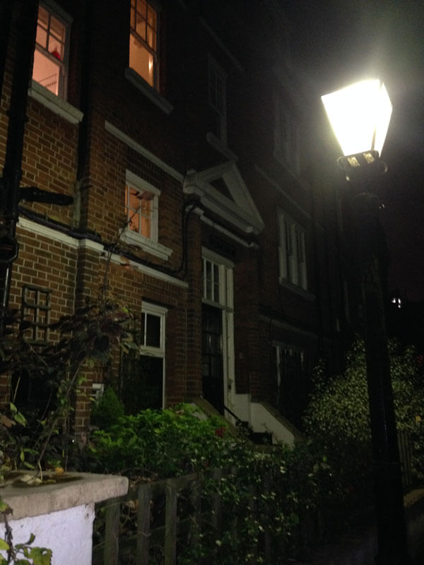 Keats Grove - переулок, где была квартира Маши