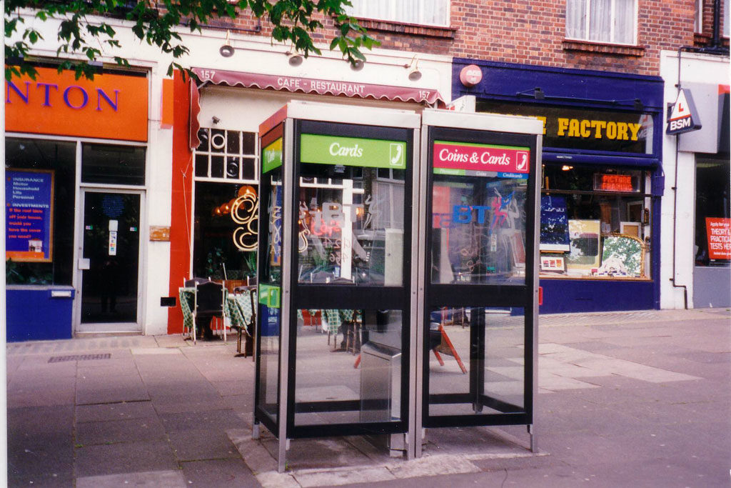 Modern-telephone-booth
