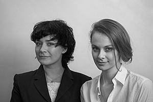 Даша Померанцева и Мария Копьёва