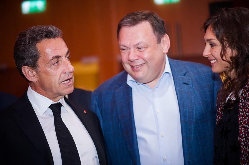Николя Саркози и Михаил Фридман