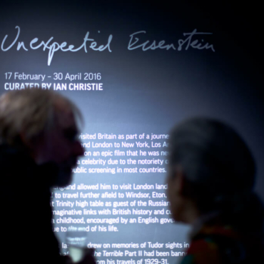 Exhibition Opening of 'Unexpected Eisenstein'