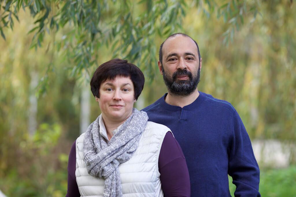 Екатерина Кадиев и Сергей Кузнецов