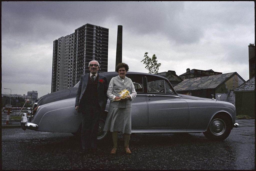 Raymond Depardon. Glasgow, 1980