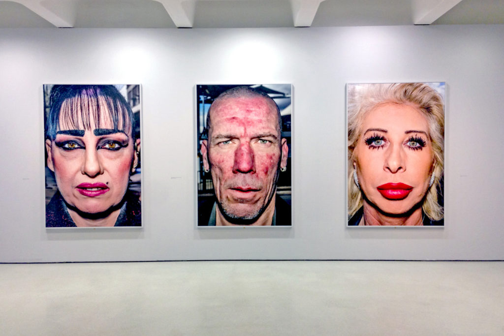 Bruce Gilden. Фотографии с выставки