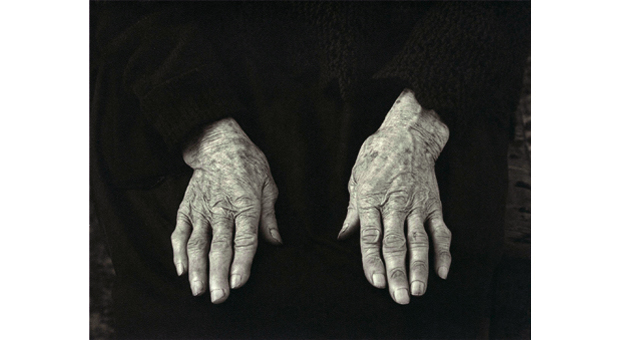 Paul Strand. Hands. 1954
