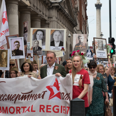 The 'Immortal Regiment' in London