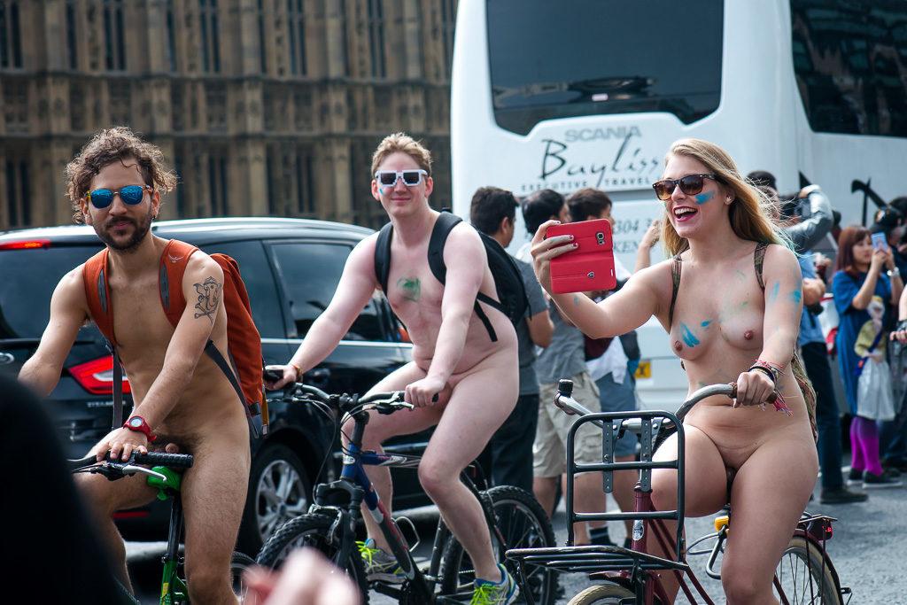 Велопробег в Лондоне 2016