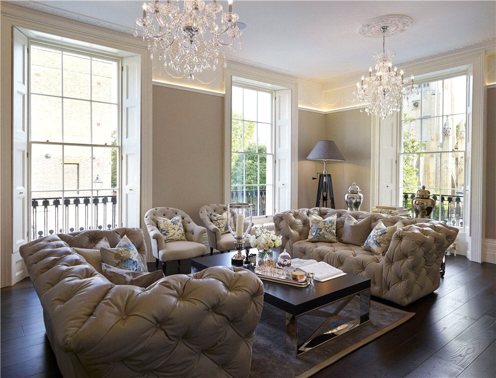5 bedroom house, Myddelton Square, Islington, £6,500,000
