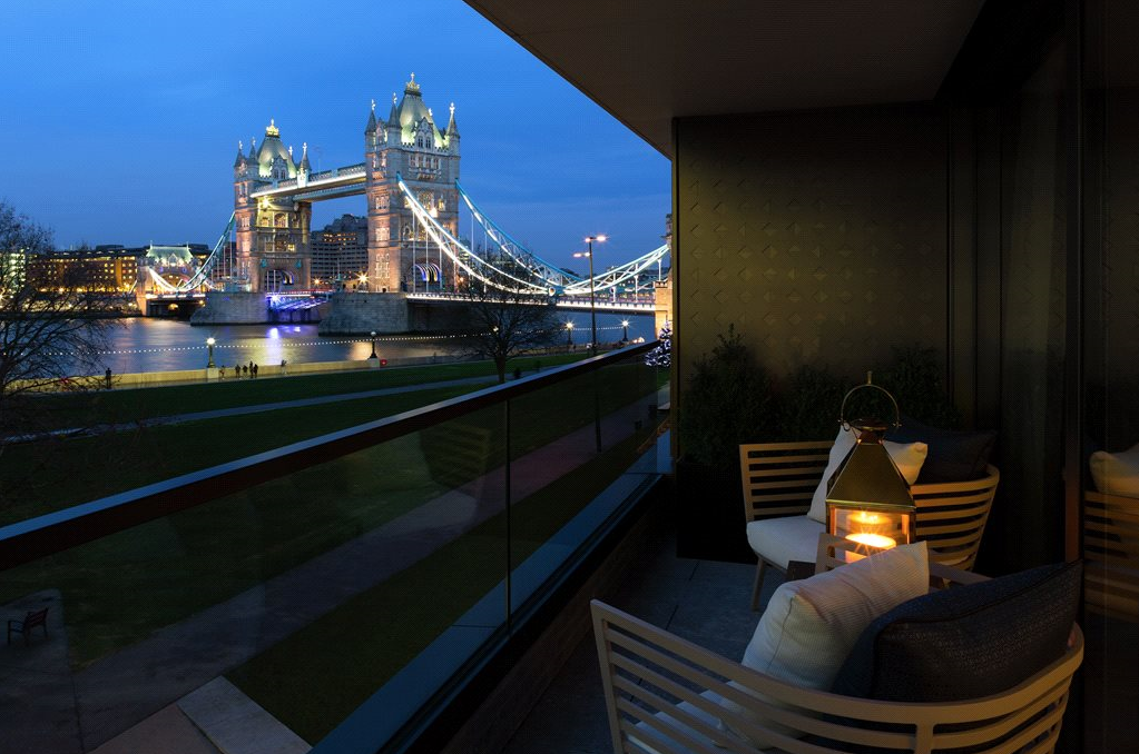 2 bedroom river front apartment, One Tower Bridge, £3,750,000