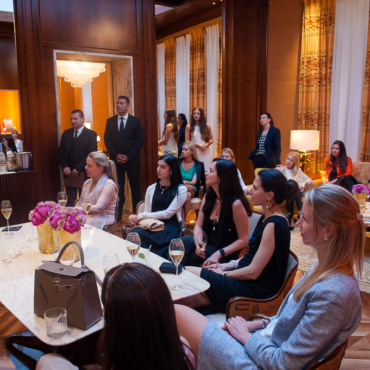Women Who Inspire. Встреча на New Bond Street