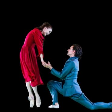 Осипова и Полунин в голографической постановке