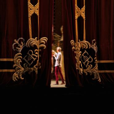 Большой театр в Лондоне. Фото с репетиции