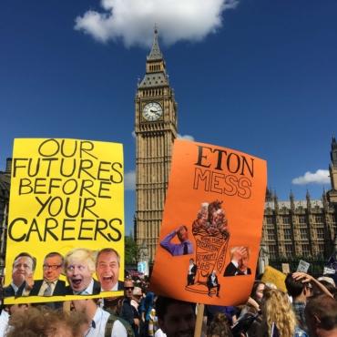 March for Europe. Фотографии