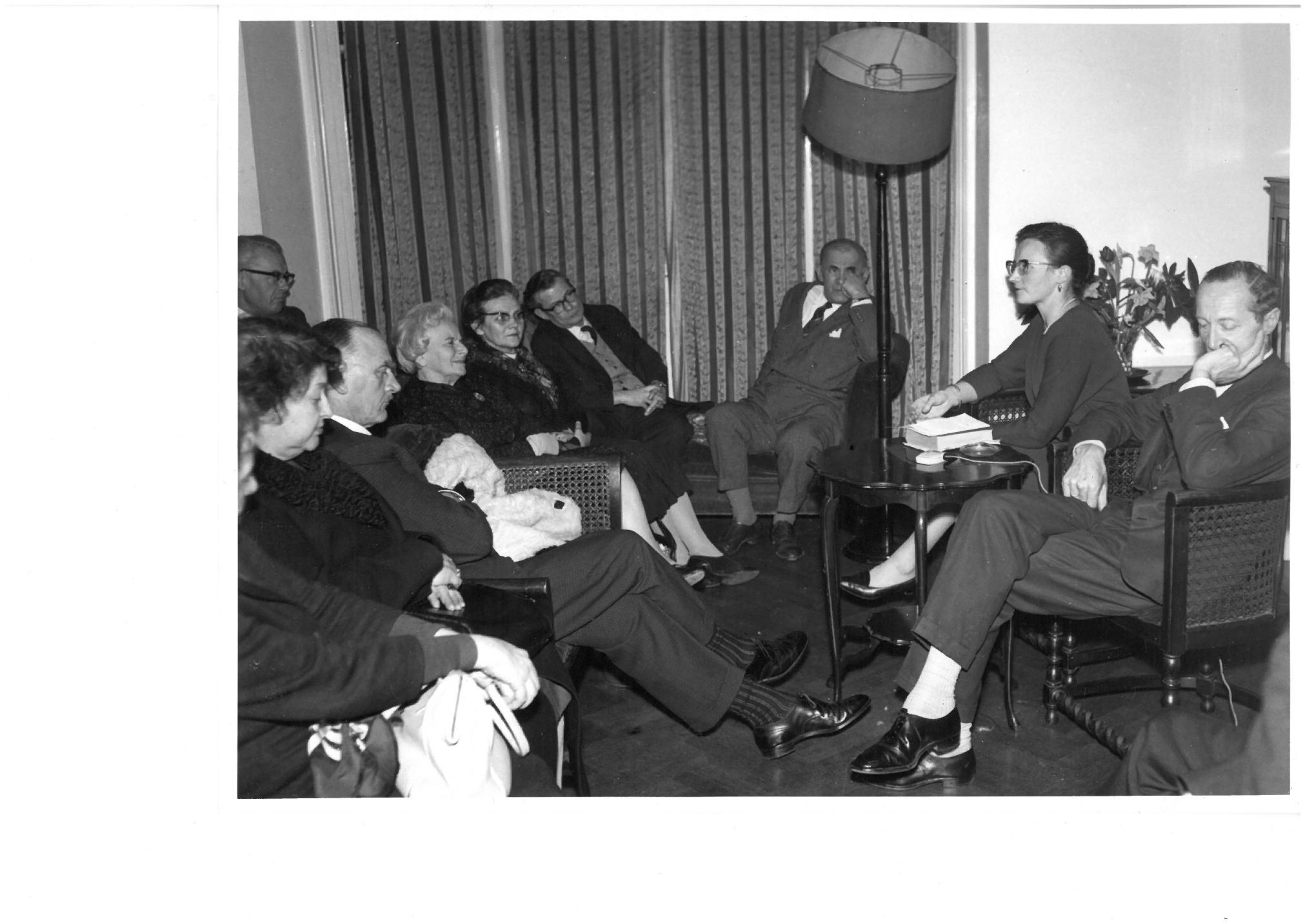 Первые встречи «Пушкинского клуба»