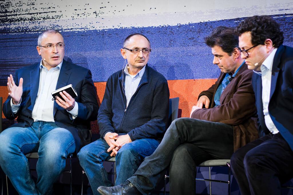 Михаил Ходорковский, Александр Морозов, Кирилл Рогов и Аркадий Островский