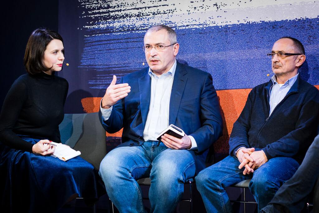 Михаил Ходорковский и Александр Морозов