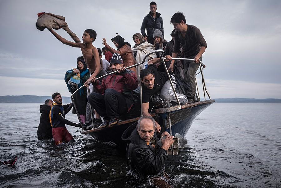 Sergey Ponomarev for The New York Times. Фотография, вошедшая в серию, отмеченную Пулитцеровской премией