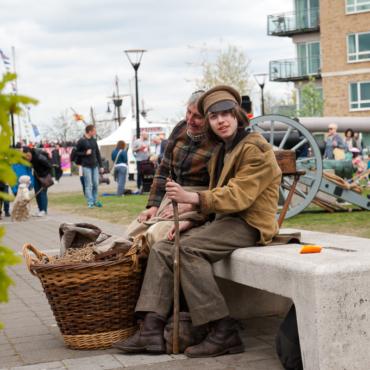 Фестиваль парусников в Лондоне