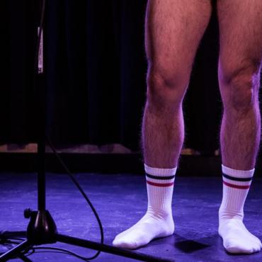 Обнаженные парни читают стихи и рассказы (и такое в Лондоне бывает, да)