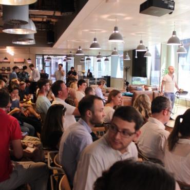 Встреча российских стартапов в Лондоне: самое сложное — говорить по-английски