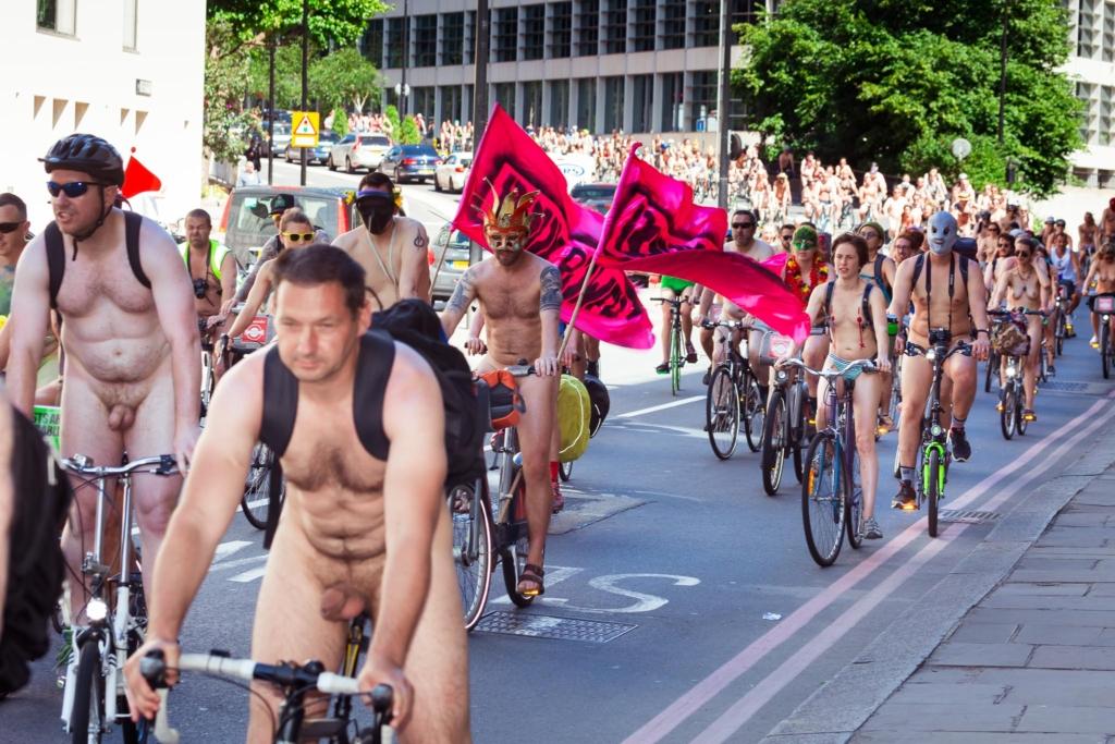 Ежегодный велопробег в Лондоне