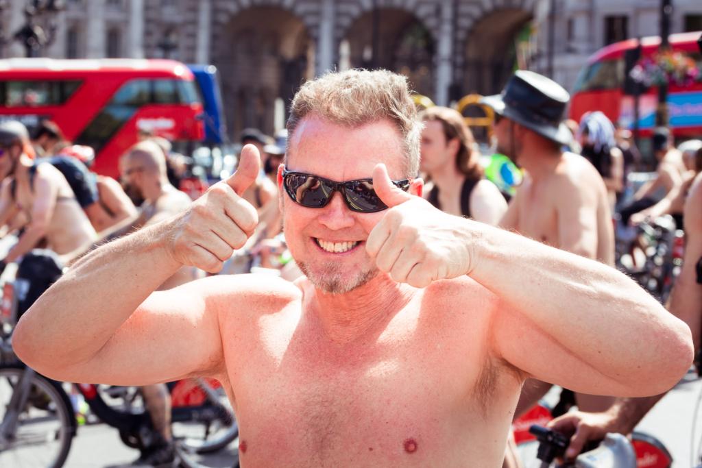 Лондонский велопробег 2017