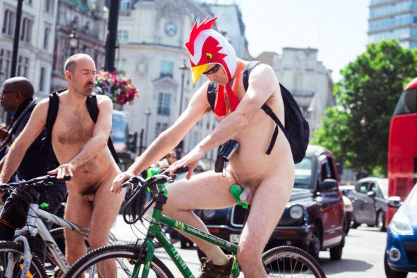 Фото голый велопробег